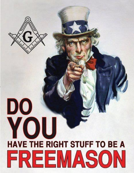 How to become a Freemason?